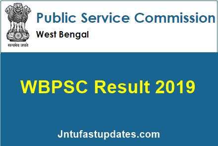 WBPSC Civil Service Result 2020