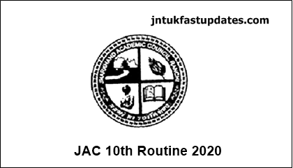 JAC-10th-Time-Table-2020