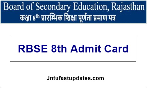 RBSE-8th-Admit-Card-2020