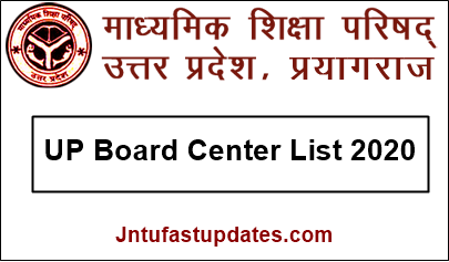 UP Board Center List 2020