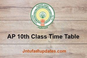 ap 10th class time table 2020