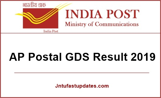 ap postal gds results 2019