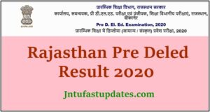 Pre deled result 2020