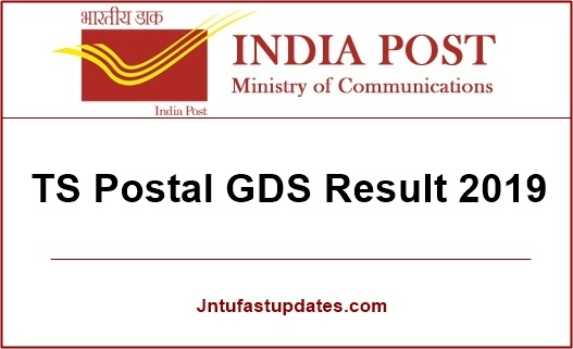 ts postal gds results 2019