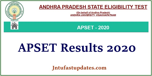 APSET Results 2020