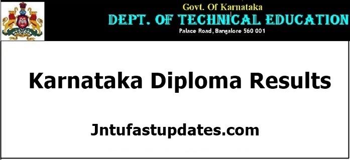 Karnataka Diploma Results 2020