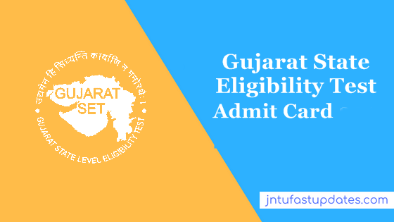 Gujarat set hall ticket 2019