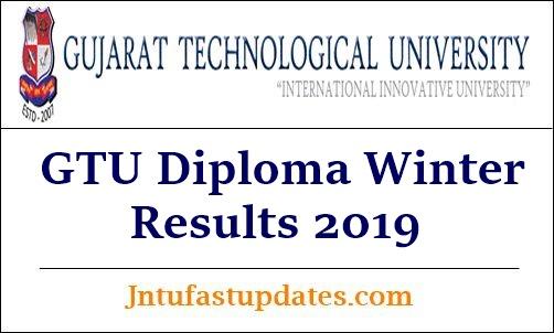 GTU Diploma Winter Results 2019