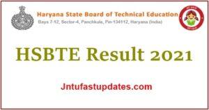 HSBTE Result 2021