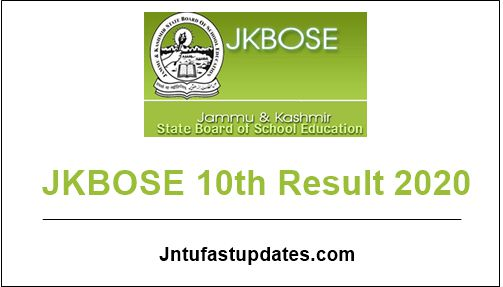 JKBOSE-10th-Result-2020