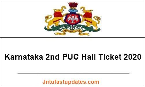 Karnataka-2nd-PUC-hall-ticket-2020