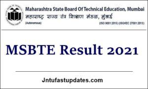 msbte result 2021