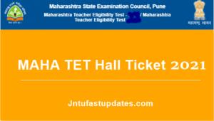Maha tet hall ticket 2021