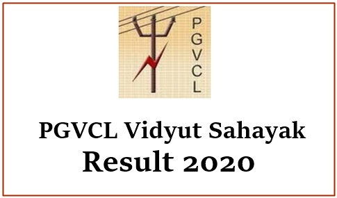 PGVCL Vidyut Sahayak Result 2020