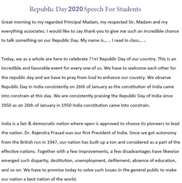 Republic-Day-2020-Speech-For-Students
