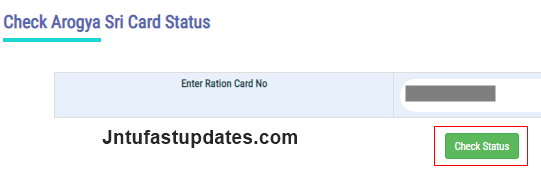 aarogyasri card status check-1