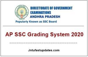 ap ssc grading system 2020