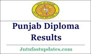 Punjab Diploma Result 2021