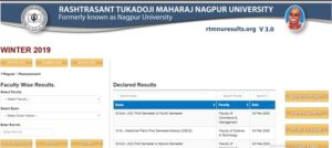 RTMNU Result 2020 Winter