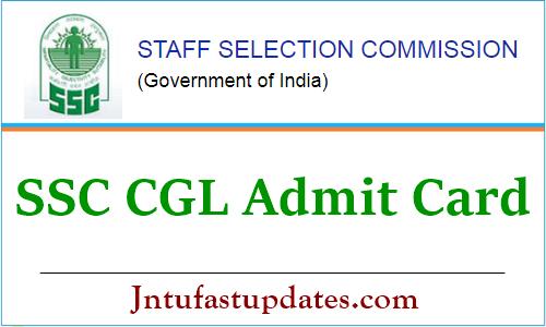 SSC CGL Tier 1 Admit Card 2021