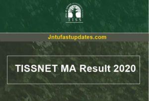 TISSNET Result 2020