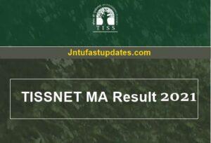 TISSNET Result 2021