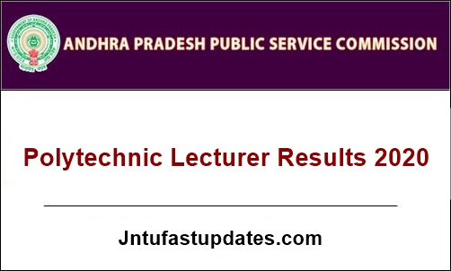 APPSC-Polytechnic-Lecturers-Main-result-2020