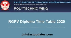 RGPV-Diploma-time-table-2020