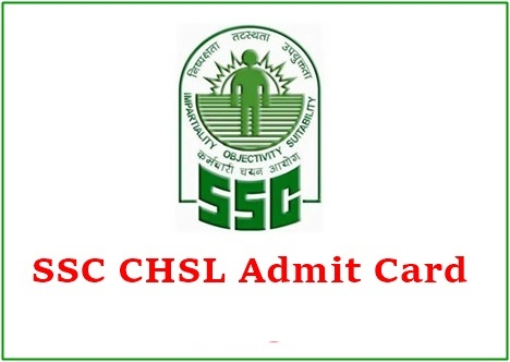 SSC CHSL Tier 1 Admit card 2021
