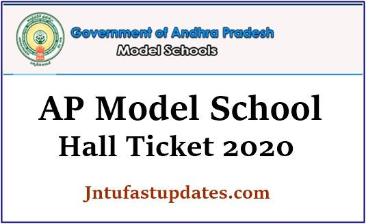 AP Model School Hall Ticket 2020
