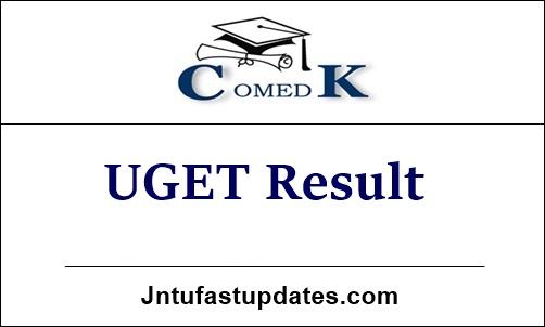 COMEDK UGET Result 2021