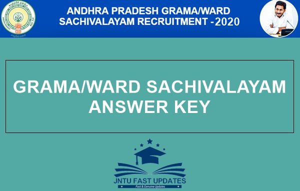 AP-Grama-Sachivalayam-Answer-Key-2020