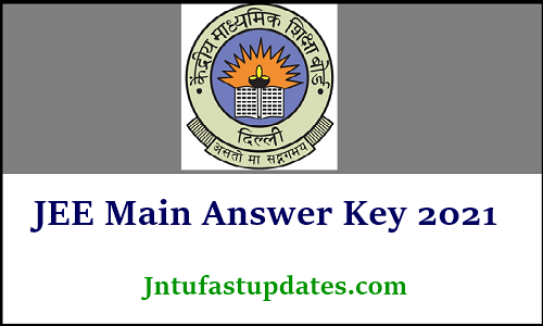 jee main answer key 2021