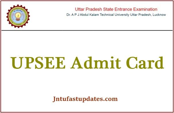 UPSEE Admit Card 2021