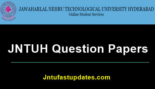 jntuh-question-papers