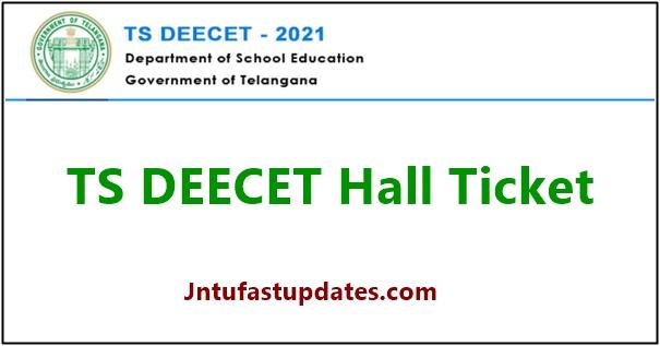 TS DEECET Hall Ticket 2021