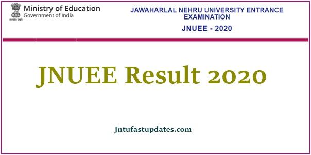 jnuee result 2020