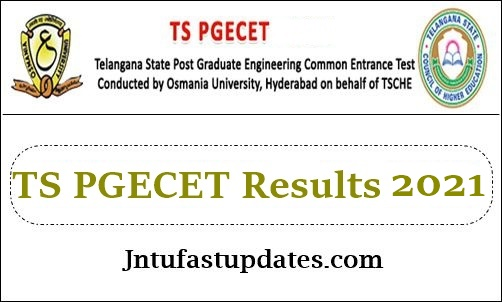 TS PGECET Results 2021