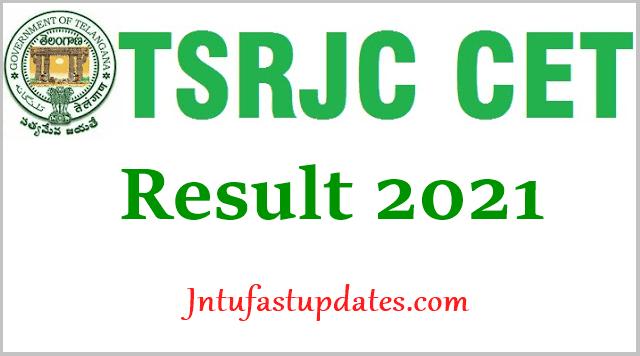 TSRJC Results 2021