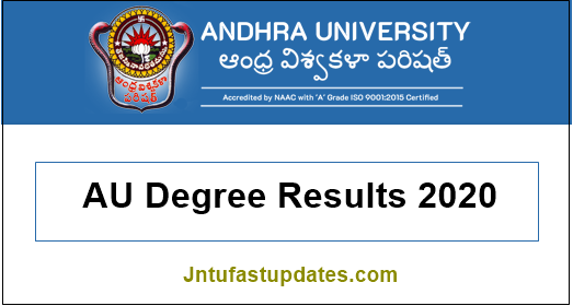 au degree results 2020