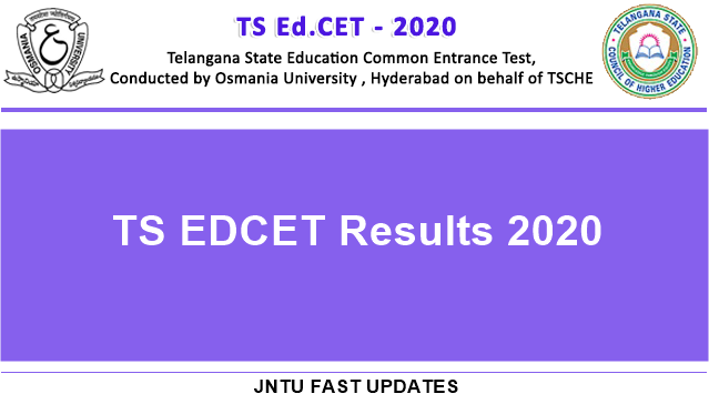 ts edcet results 2020