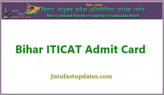Bihar ITICAT Admit Card 2021