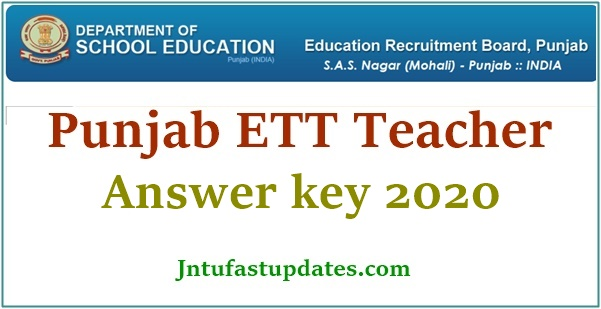punjab ett teacher answer key 2020