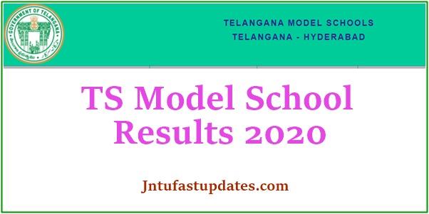 TS Model School Results 2020