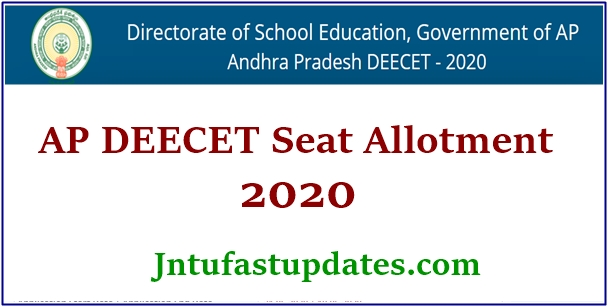 ap deecet seat allotment