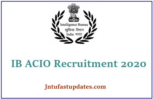 IB ACIO Apply Online 2021