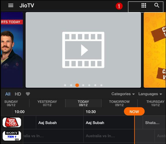 ap inter online classes 2020 jio tv app