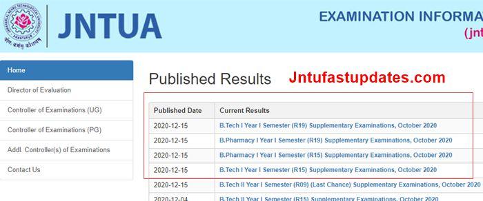 jntua 1-1 supply results oct 2020