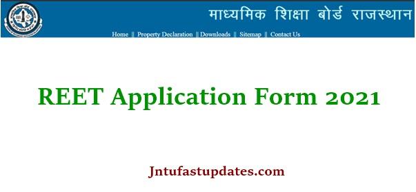 REET Notification 2021 Apply Online