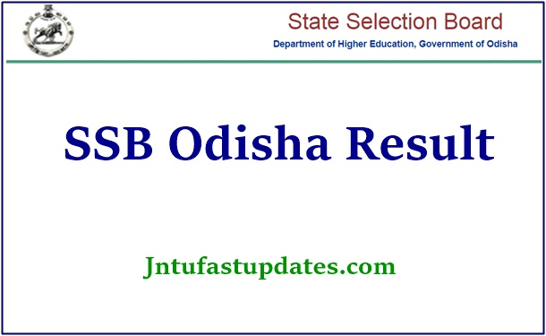 SSB Odisha Junior Assistant Result 2021